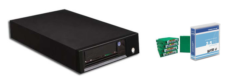 LTO External Drives and Media